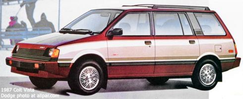 Dodge Colt Vista: Plymouth For Sale - Eagle Wagon ...